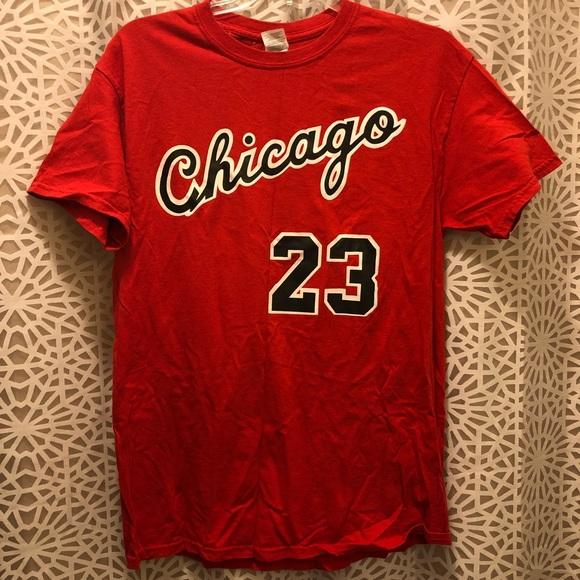 d07e47c60d7c Gildan Other - Michael Jordan Chicago Bulls Jersey T-shirt
